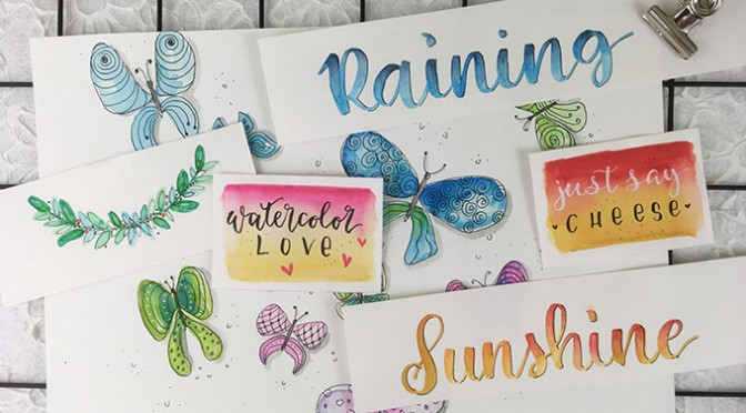 Watercolor Handlettering-Workshop2