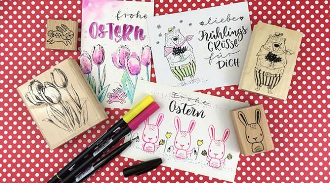 Ferienworkshop: Stempeln und Handlettering