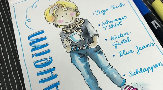 Herbstferien-Workshop sketch your selfie
