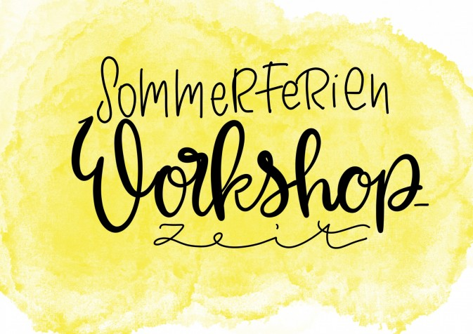 Sommerferien Workshops