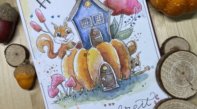 Herbstferien-Workshop Watercolor und Handlettering für Schüler
