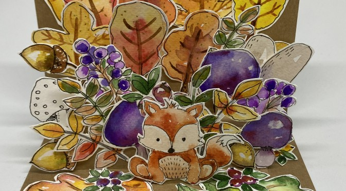 Workshop: Herbst-Pop-Up Karte mit watercolor